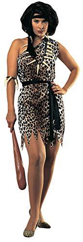 Rubie's - Disfraz de mujer cavernícola para adultos, talla única standard (55014)