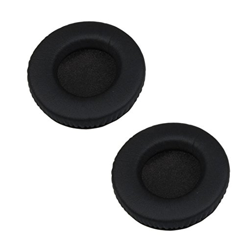 Ear Pads,Sainagce Replacement Ear Cushion Earpad For Razer Kraken/Sennheiser HD205 HD225 Headphones Black 1 Pair