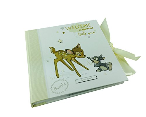 Disney Baby Photo Album Bambi and Thumper Boxed New by ukgiftstoreonline