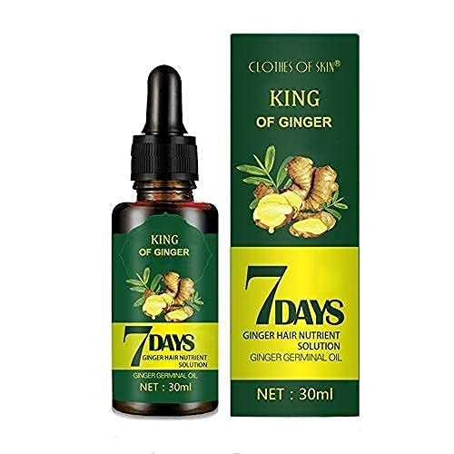 Hair Regrow 7 Day, Ginger Germinal Essential Oil Hair Growth...