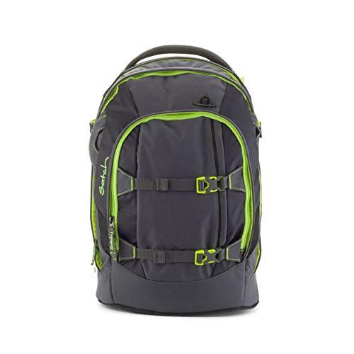 satch Pack Phantom, ergonomischer Schulrucksack, 30 Liter, Organisationstalent, Grau