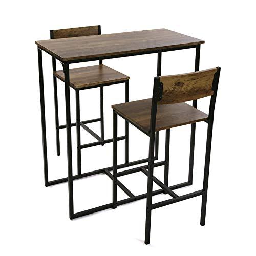 Versa Mesa con Dos sillas, PVC, 97 x 45 x 89 cm