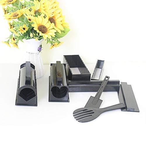 Phoetya Sushi-Maker-Set, 10-teilig, multifunktionale Küchenmaschine, Nori Sushi machen Formen für Anfänger oder Feinschmecker.