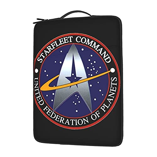Star Trek Laptop Case Sleeve Computer Bag Tablet Briefcase Ultraportable Protective for 13-15.6 Inch