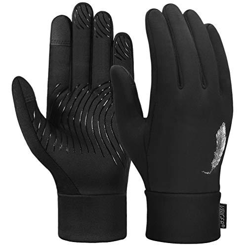 VBIGER Handschuhe Herren Damen Warme Winterhandschuhe Fahrradhandschuhe Touchscreenhandschuhe Laufhandschuhe Leicht Sporthandschuhe für Radfahren Laufen & Reiten