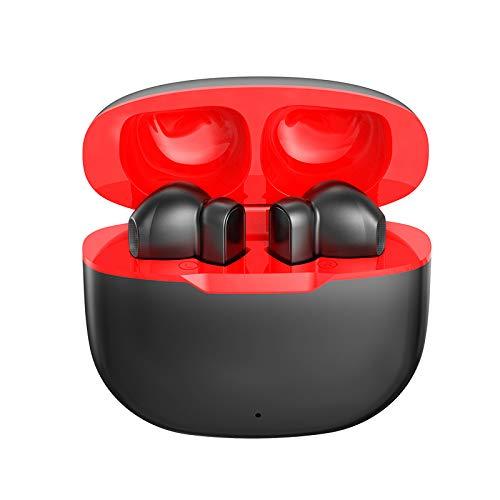 Bluetooth-Ohrhörer, Bluetooth Kopfhörer in Ear Hi Echte Kabellose Ohrhörer mit Ladekästchen,Bluetooth 5.0 Headsets für Handy/Sport/Laufen/Android/IOS,5-stündige Spielzeit