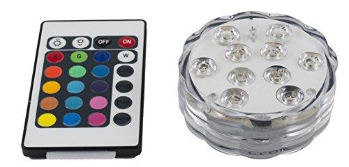 AMY LED Groß für Shisha Glas mit Fernbedienung