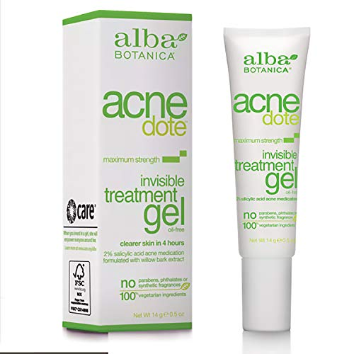 0.5-Oz Alba Botanica Acnedote Maximum Strength Invisible Treatment Gel $2.98 w/ S&S + Free Shipping w/ Prime or on $25+