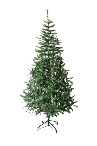 FMX Sapin de Noël Artificiel Vert 2M10 600 Branches - Pied métal
