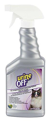 Kerbl 81681 UrineOff Spray Katze Geruchs- und Fleckenentferner,  500 ml
