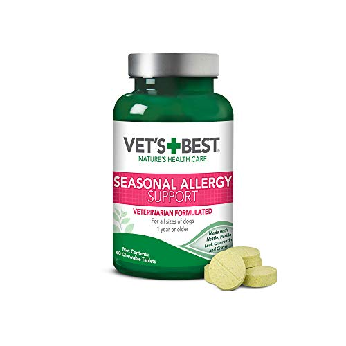 Top 10 best selling list for dog supplements for seasonal allergies