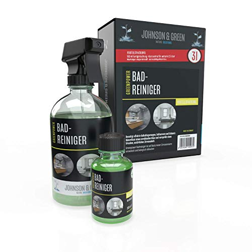 Greenpower Badreiniger Vorteilspack für bis zu 3 Liter