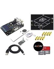 Raspberry Pi 4B / 3B / 3 ハイエンド Hi-Fi Sound Card 【32bit 384khz, DSD128 Support】+ LCD & Analog Volume & IR リモコン *デコーダーChip ESS製 ES9038Q2M / オペアンプ OPA1612