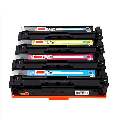 WQJIE Color laserprinter, Voor HP HP201A CF400A tonercartridge 252n M277n M277dw M252dw m274n Color LaserJet Pro tonercartridge, size, Geel