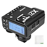 Godox X2T-F TTL 2.4G Wireless Flash Trigger Transmitter for Fujifilm,Support Bluetooth Controlled,1/8000s High-Speed