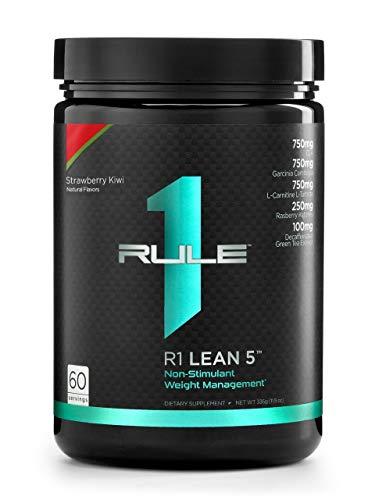 Rule 1 Proteins, R1 Lean5 60 Serv Strawberry Kiwi, 336 Gram