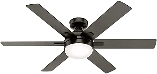 Hunter Hardaway Indoor Ceiling Fan with LED Light and Remote Control