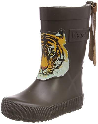 Bisgaard Unisex rubberen laarzen voor kinderen, modieuze rubberlaarzen, bruin bruin 60, 23 EU