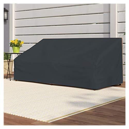 Funda protectora para muebles de jardín, tela Oxford 420D con 4 hebillas, resistente al viento, resistente a los rayos UV e impermeable. Cubierta para muebles de jardín, 135 x 135 x 75 cm