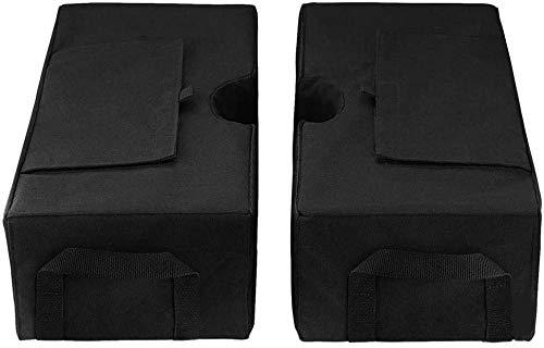 VSOO Bolsa de arena de doble costura resistente, tela Oxford 900D, resistente para sombrillas. Pesos de las piernas. Tienda de campaña con dosel. Bolsa de pies ponderada