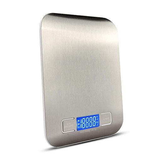 NC Báscula de Cocina, báscula de Alimentos Digital con Capacidad de Alta precisión, báscula de medición multifunción Digital -10KG / 1G