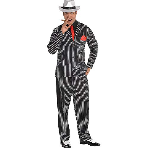 Amscan 841882 Mob Boss Costume, Adult Large Size, 1 Piece
