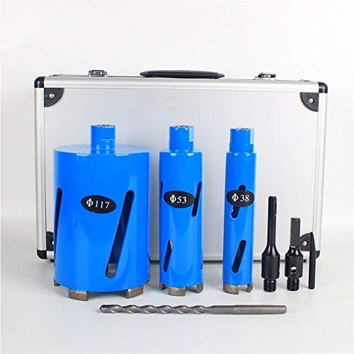 ROYAL STAR TY Drill bit M16 Diamond Core Drill Bit Hole Saw for Concrete 38/53/117 mm Drilling Bits Set Wall Tap Water Air Condition Drill Tool