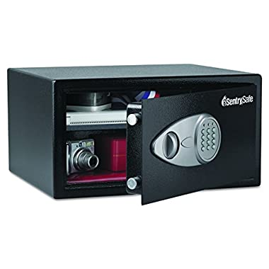 SentrySafe Security Safe, Large Digital Lock Safe, 1.0 Cubic Feet (Large), X105