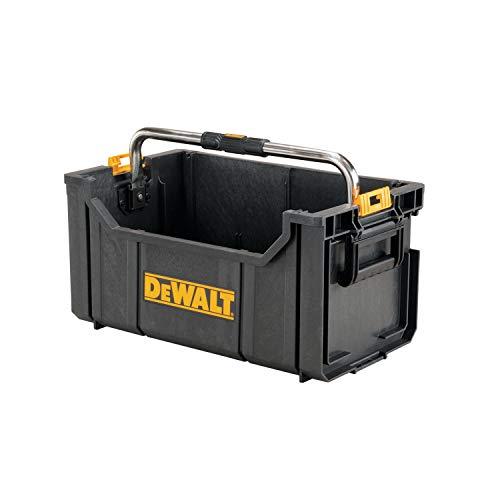 DeWalt DWST1-75654 Cajón con asa metálica, Amarillo/Negro