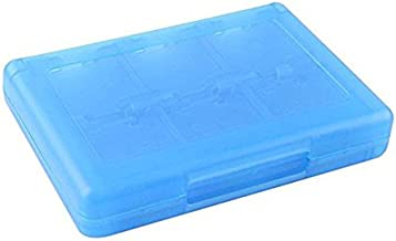 PIXNOR 28 In 1 Cards Case Holder For Nintendo Nds Ndsi Ndsill 2Ds 3Ds 3Dsll/Xl (Blue)