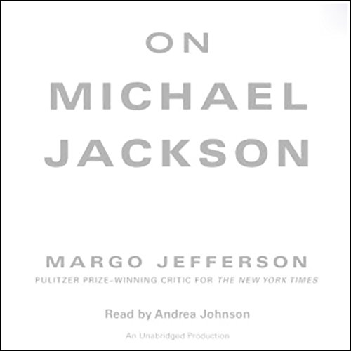On Michael Jackson audiobook cover art