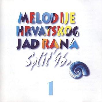 Melodije Hrvatskog Jadrana, Split '96. 1