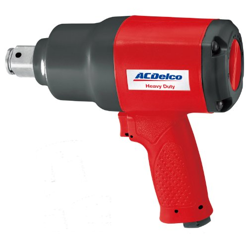 ACDelco ANI812 1-inch Composite Impact Wrench Pneumatic Tool, 1400 ft-lbs, Heavy Duty