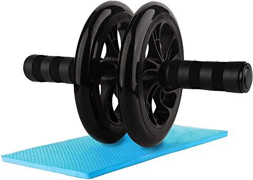 WeyTy Bauchtrainer AB Roller, Bauchroller AB Wheel Abdominal Roller Sehr Leise Fitnessgerät und Bauchmuskeltrainer für starke Schultern/Arme/Rücken/Bauchmuskeln, Standhält 200kg