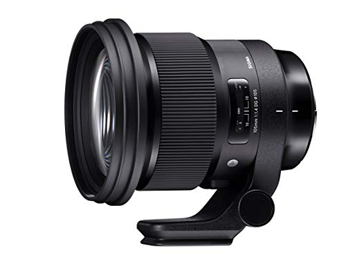 Sigma 259965 Obiettivo 105 mm-F/1.4-AF A DG HSM, Attacco Sony E-Mount, Nero