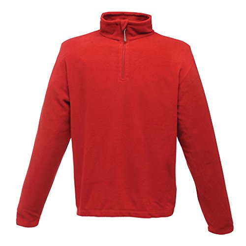 Regatta Micro Zip Neck, Classic Red, 4XL
