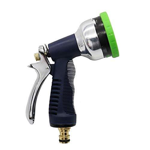 GY-HCJIPenz Pistola De Agua De Lavado De Coches Portátil, 9 Patrones Portátil Ajustable De Alta Presión del Arma De Agua, Jardín del Agua Pulverizadores, Agua A Alta Presión De Alimentación del Arma