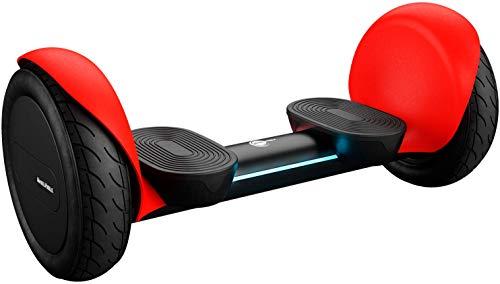 "Wheelheels Balance Scooter, Hoverboard \'Offroad Alpha\' - 10\"" Luftreifen, Wasserdicht, Aluminiumkarosserie (Rot)"