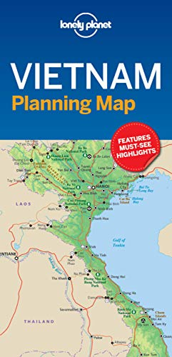 Lonely Planet Vietnam Planning Map [Lingua Inglese]