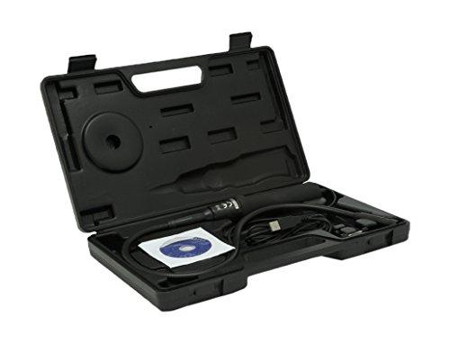 Trebs Comfortcam 22127 Endoskop mit USB und flexiblem Schwanenhals (66 cm) und wasserdichter Kamera (14 mm), Video- und Fotoaufnahmen, Bedienung erfolgt über USB Verbindung