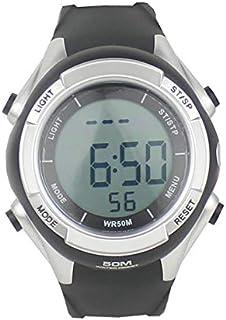 LINGJIA Pulsómetros Impermeable Inalámbrico Polar Monitor De Ritmo Cardíaco Reloj Digital Cardio Sensor Fitness Sport Running Hrm Correa para El Pecho Pulsómetro