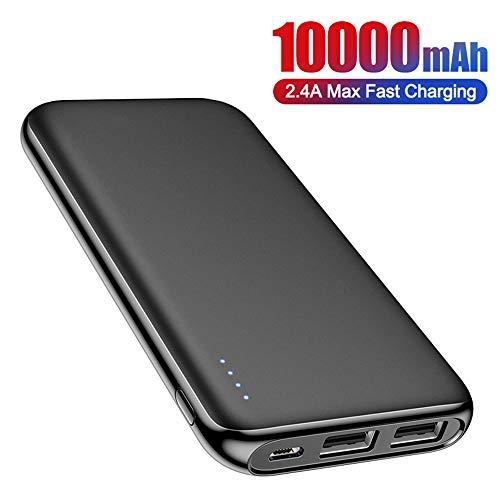 Powerbank, 10000 Mah Powerbank Portable Charging Poverbank 10000Mah USB externe batterijlader, voor Xiaomi Mi 9 8 Iphone