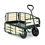 Waldbeck Ventura Hand Truck Hand Cart Heavy Load (300 Kg Load Capacity, Sturdy Steel Frame, Folding...