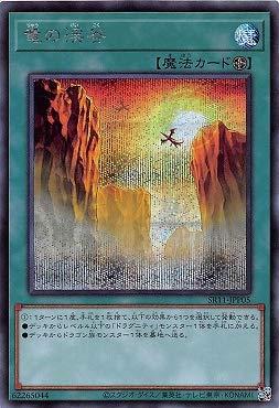 遊戯王 第11期 SR11-JPP05 竜の渓谷【シークレットレア】