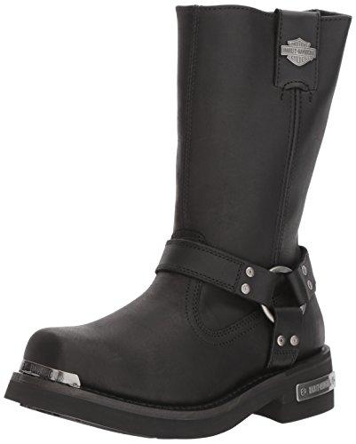 HARLEY-DAVIDSON FOOTWEAR Men's Landon Motorcycle Boot, Black, 10 Medium US