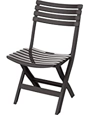 Cosmoplast Plastic Folding Chair for Indoors and Outdoors