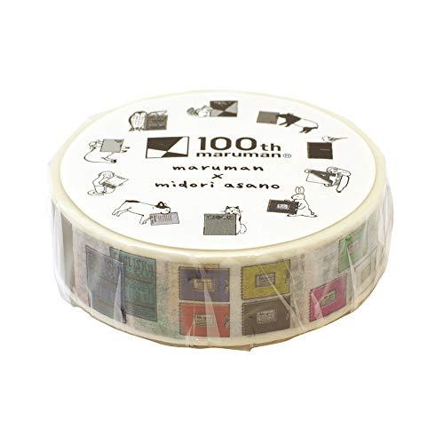 MARUMAN(マルマン)『創業100周年記念 マスキングテープ マルマンブランド柄』