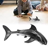ホオジロザメ、リアルな海の生き物認知玩具サメモデル海の生物海洋動物3〜12歳の男の子の子供のための 教育およびロールプレイのおもちゃ