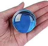 MXCHEN Vidrio Transparente Bola de Cristal Bola de Cristal Bola de curación Bola de curación Bola de decoración Artificial Crystal Home Ball