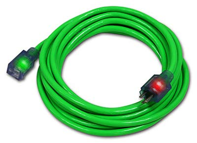 CENTURY WIRE & CABLE D17334050 50' 14/3 Green ExtensionCord extension cord